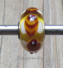 Authentic Trollbeads Unique Glass Bead 937 Bee Older