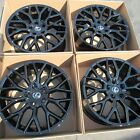 18 LEXUS SC 430 GS 460 430 460 ES350 WHEELS VOGUE WHEELS GLOSS BLACK