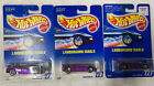 Hot Wheels Blue Card Lamborghini Diablo Collector No 227Lot of 32 Variation