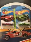 Hot Wheels Super Treasure Hunt 2013 Chevy Camaro Special Edition And Regular