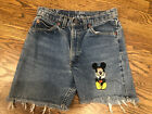 Vintage TOO CUTE Guetta Brothers Walt Disney Shorts With Appliques Size Small