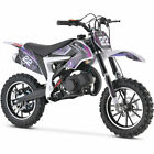 MotoTec Demon Dirt Bike 50cc Purple  Free Shipping  Best Offers Accepted