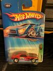 2005 HOT WHEELS TREASURE HUNT RED 1967 CAMARO 212 W PLASTIC COVER NEW 29