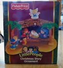 New Rare 2006 FISHER PRICE Christmas Story Little People Ornament Nativity HTF