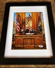 🇺🇸 DONALD TRUMP PSA DNA Autograph Signed Photo Oval Office White House MAGA