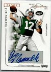 JOE NAMATH 2004 PLAYOFF PRIME SIGNATURES CERTIFIED AUTOGRAPH# 99 PROOF