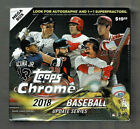 2018 TOPPS CHROME BASEBALL UPDATE FACTORY SEALED MEGA BOX 7 PACKS 4 CARDS LOADED