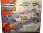 Mattel Matchbox HERO CITY RESCUE ROADWAY Playset 2002 NIB Rare Retired