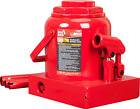 Bottle Jack Torin Hydraulic Stubby Low Profile Welded Bottle Jack 2-50 Ton Capac