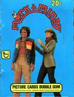 Mork & Mindy TV Show Vintage Bubble Gum Card Box 36 Packs Topps 1978