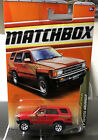 Matchbox Red 1985 Toyota 4 Runner 85 4x4 Off Road Outdoor Sportsman