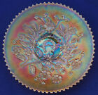MARIGOLD CARNIVAL GLASS NORTHWOOD GOOD LUCK PLATE