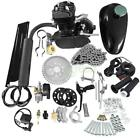 Bike Bicycle Motorized 2 Stroke Petrol Gas Motor Engine Kit Set Black 80cc