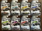 Hot Wheels 2018 50th Anniversary Zamac Flames Series Complete Set Lot of 8 new