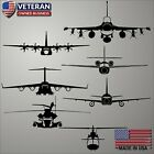 Custom Aircraft Front View Decal Sticker Choose Any Airplane Helicopter