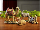 Three Kings Set of 4 Christmas Nativity Animals Set 7 inch Scale