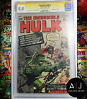 The Incredible Hulk 5 CGC 40 Signed Stan Lee Marvel
