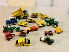 diecast construction equipment lot Ford John Deere caterpillar Matchbox