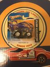 2012 Hot Wheels Volkswagen Beetle Super Treasure Hunt Euro Short Card Rare