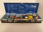 Vintage 1980s Matchbox Cars with Collectors Case 24 Cars