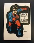 1976 Topps Marvel Super Heroes Stickers 9