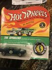 Heavy Chevy Camaro Hot Wheels Original Redlines in Blister Pack With Button Open