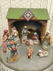 Jim Shore Heartwood Creek Mini Nativity Set of 10