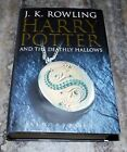 JK Rowling Harry Potter and the Deathly Hallows 1st Ed Adult Cover HB VF