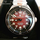 44mm PAGANI Design Coffee Dial Sapphire crystal glass NH35 Automatic Mens Watch