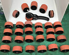 HUGE LOT SET STAMPIN AROUND Roller Wheel  30 Rubber Stamps Rollagraph Handles