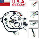 CDI Electric Wiring Harness Loom Kit 150 200 250CC ATV Stator Quad Scooter Buggy