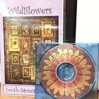 Wildflowers Smith Street Designs Machine Embroidery CD Quilt Pattern Floral New