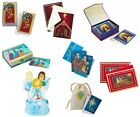 MEGA HALLMARK NATIVITY BOXED CHRISTMAS CARD LOT 8 BOXES 144 CARDS POP UP 123