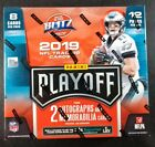 2019 Panini PLAYOFF Football Factory Sealed HOBBY BOX 2 AUTOS & 2 RELICS