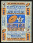 1935 National Chicle Football Cards 32