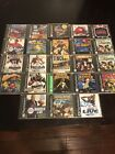 PS1 GAMES HUGE LOT YOU PICK PLAYSTATION 1 All Complete In Case Good Condition
