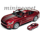 AUTOWORLD AW245 2017 FORD MUSTANG GT 1 18 with 1 64 VERSION DIECAST RED