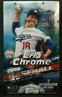 2016 TOPPS CHROME BASEBALL FACTORY SEALED HOBBY BOX 2 Auto's COREY SEAGER RC'S