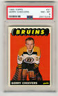 Gerry Cheevers 1965-66 Topps ROOKIE RC PSA NM-MT 8