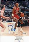Scottie Pippen HOF Chicago Bulls Signed Autographed 8x10 Glossy Photo Beckett