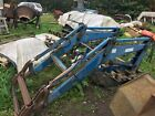 Ford 5610 tractor Tanco 868 front loader bracketsbucket complete ready to fit
