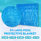 6 7 8 10 12ft Square Round Swimming Pool Hot Tub Spa Protective Cover Blanket