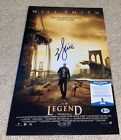 WILL SMITH SIGNED I AM LEGEND 12X18 POSTER PHOTO BAD BOYS FRESH PRINCE HITCH BAS