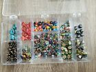 Mixed Millefiori Glass Loose lot of 223 Beads Wholesale Jewelry