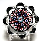Special Peter McDougall Small Daisy Millefiori Paperweight 2011 PCA Convention