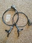Shimano XTR race hydraulic disc brake set front and rear