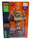 Spooky Town Eerie Go Round Carousel Halloween Signature Lemax Animated LAST ONE
