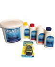 Spa and Hot Tub Treatment Starter Chemical Kit Chlorine Includes Foam Remover