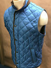 Peter Millar Mens Crown Double Zip Quilted Vest Size M MF18Z13 NWT Reg150