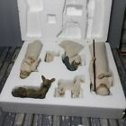 Willow Tree Nativity Sculpted Hand Painted Nativity Figures 6 piece set